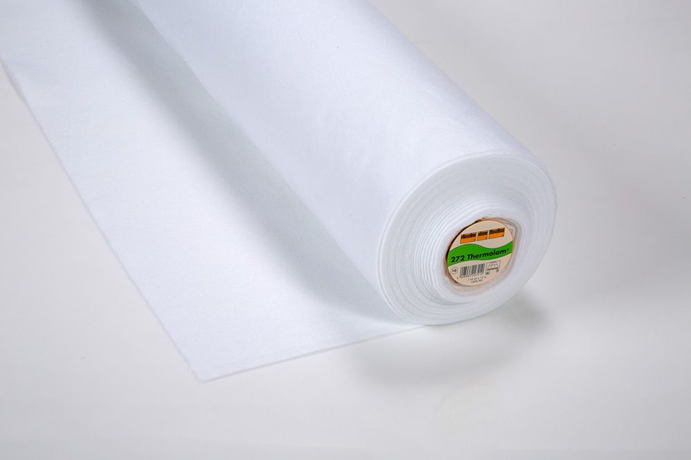 272 11 Thermolam White Compressed Volume Fleece - Roll of 90cm x 25mtr