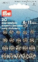 341271 Snap Fasteners - Bx 5