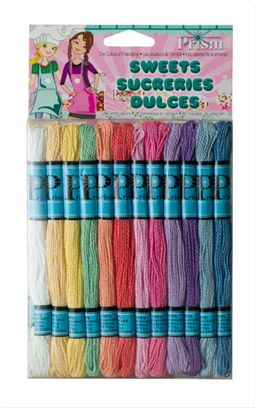 DMCPRCTPAS - Sweets 36 x 8mtr Candy Skeins