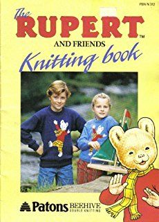 RPB1 Rupert The Bear & Friends Knitting Book