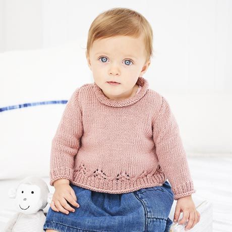 SCP Bambino DK Pattern 9606 A-Line Jumper and Cardigan
