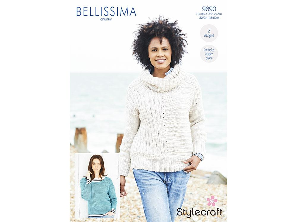 SCP Bellissima Chunky Pattern 9690 Sweaters
