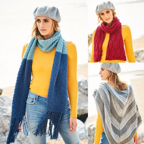 SCP Bellissima DK Pattern 9588 Scarf and Shawls