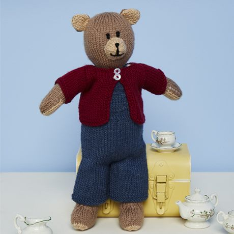 SCP Bruno the Bear Pattern 9670