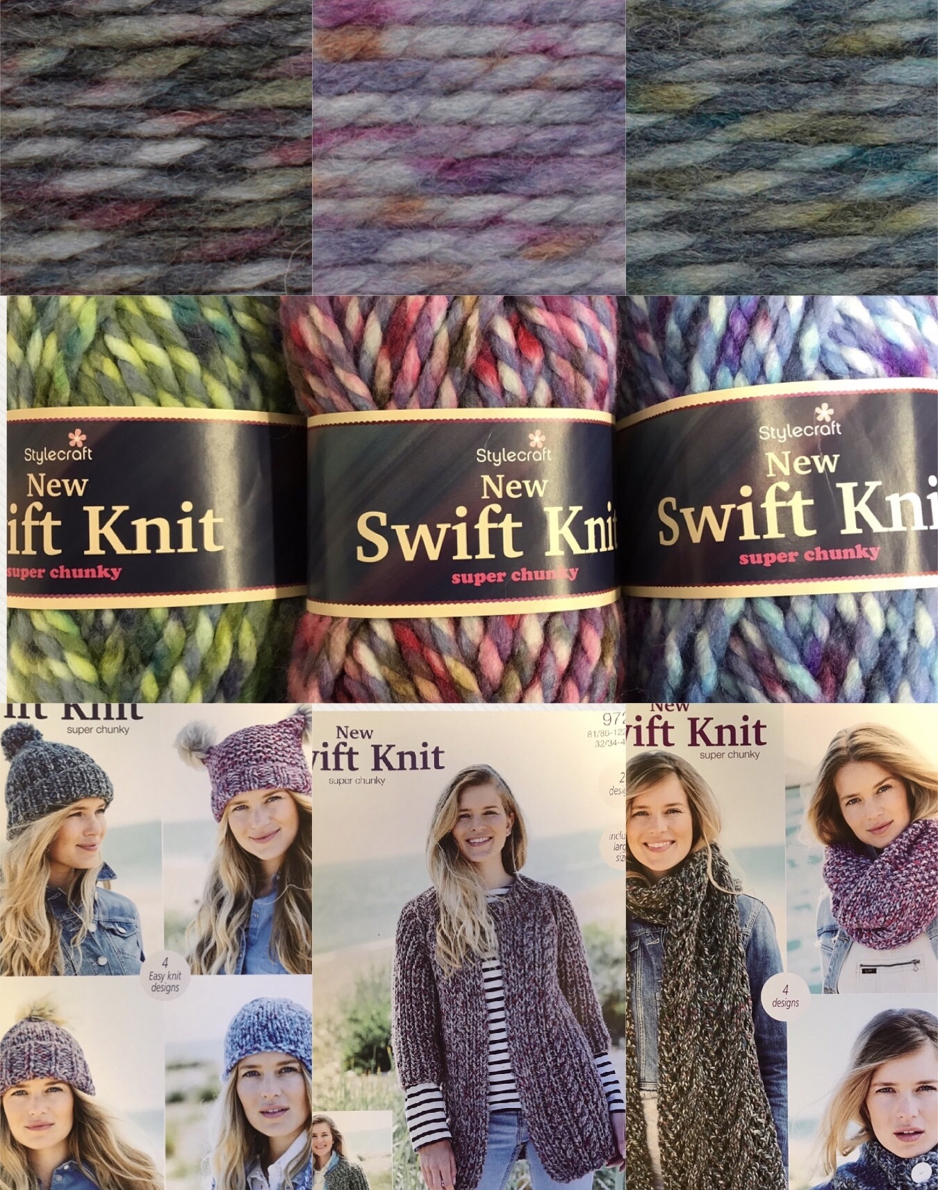 New Swift Knit Super Chunky